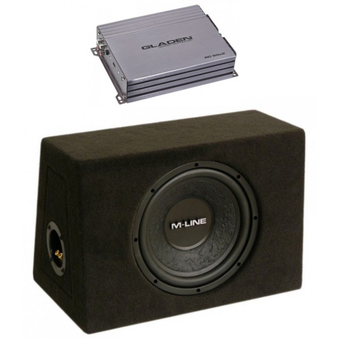 GLADEN AUDIO RC 90C2 + M-LINE 10 ZD