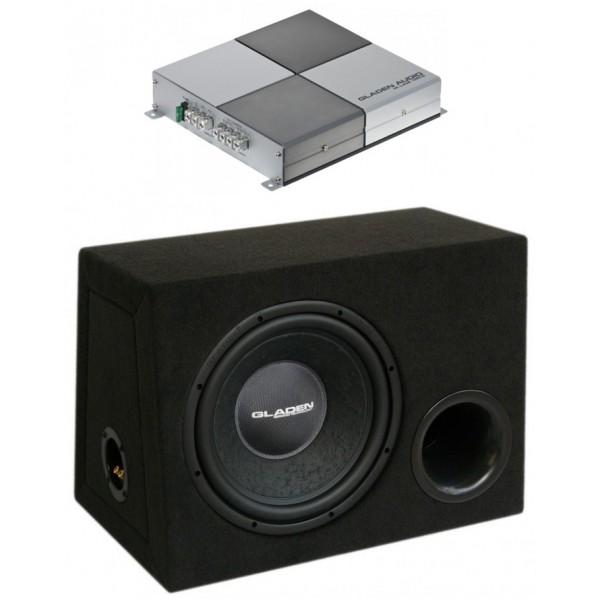 GLADEN AUDIO M-LINE 125.2 + RS 12 BR