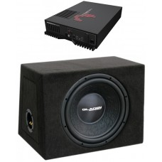 MOSCONI ONE 250.2 + GLADEN AUDIO RS 12 ZD