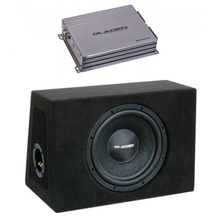 GLADEN AUDIO RC 90C2 + RS 10 ZD