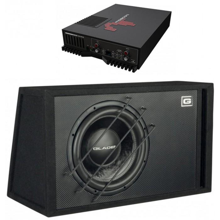 MOSCONI ONE 1000.1D + GLADEN AUDIO SQX 12 VB