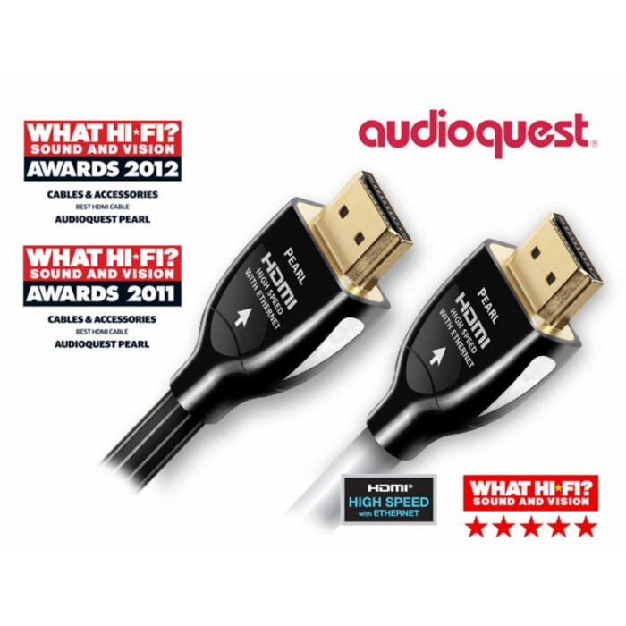 AUDIOQUEST AQ-HDMI PEARL - 3