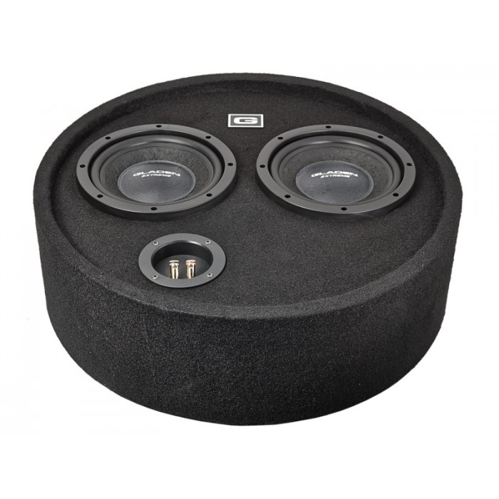 GLADEN AUDIO RS 08 ROUND BOX DUAL