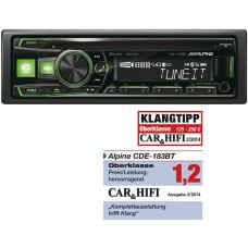 ALPINE CDE-183BT